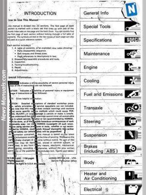 2002 acura tl service manual free download