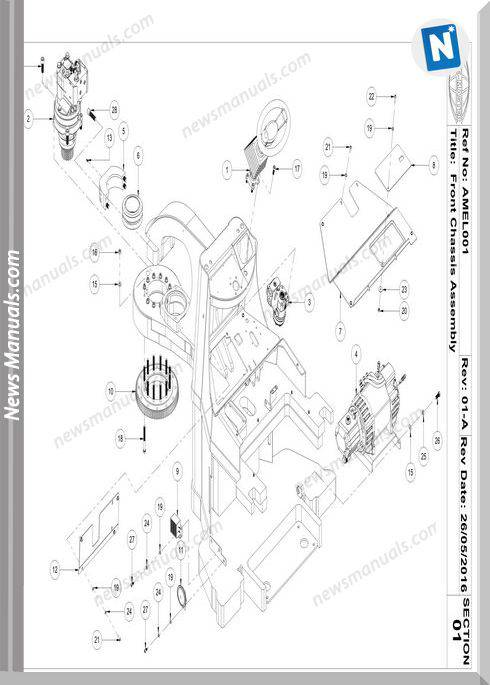 Aisle-Master Electric Mkiii 2016-Up Am15Le-M3 Parts Manuals