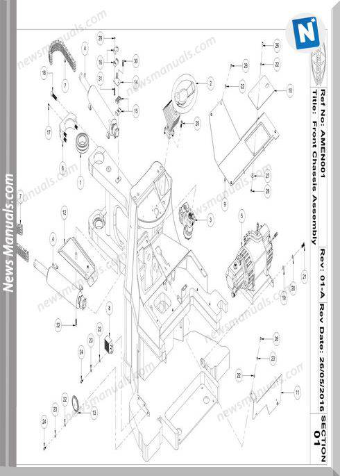 Aisle-Master Electric Mkiii 2016-Up Am20Ne-M3 Parts Manuals
