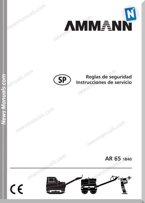 Ammann Ar 65 1B40 Instruction Manual