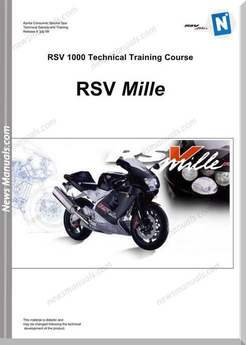 Aprilia Rsv Mille Technical Training Course