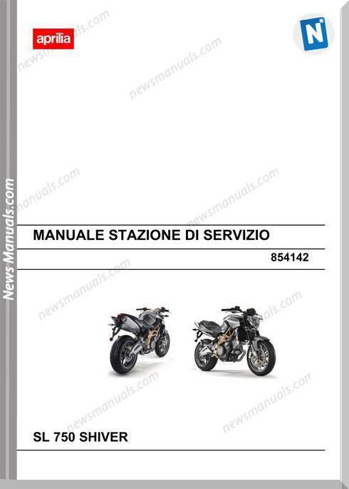 Aprilia Sl 750 Shiver Workshop Manual Italy