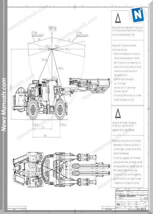 Atlas Copco Models Boomer 282 Circuit Diagram