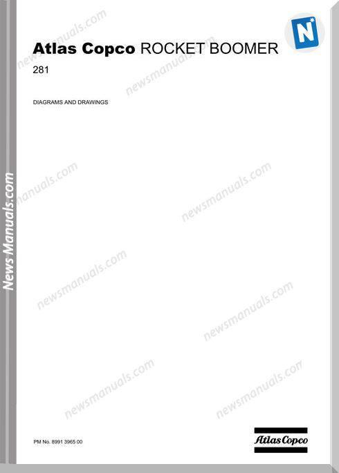 Atlas Copco Models Rocket Boomer 281 Diagrams And Drawings