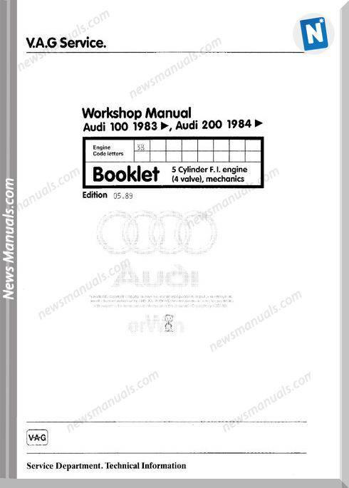 Audi 3B Engine Mech Workshop Manual