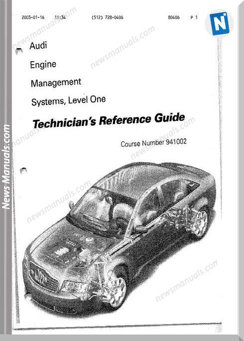 Audi Models 18T Factory Manual
