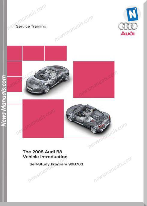 Audi Models Ssp R8 Training Manuals