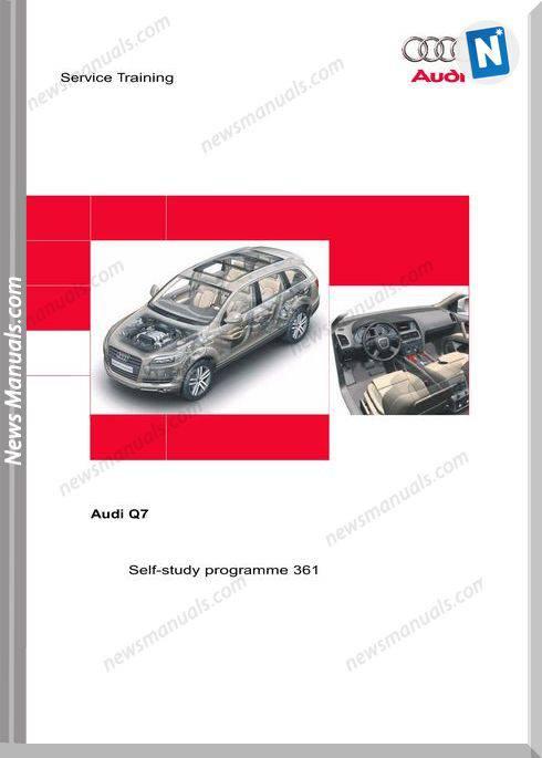 Audi Q7 Service Training Manual Manual Guide