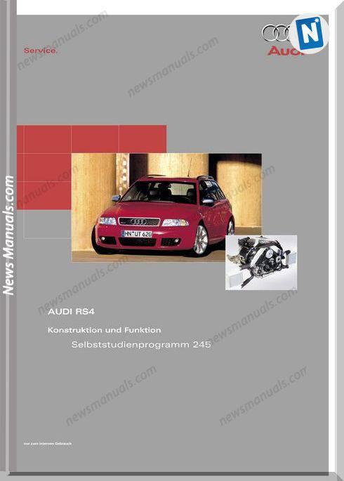 Audi Rs4 Service Manual Manual