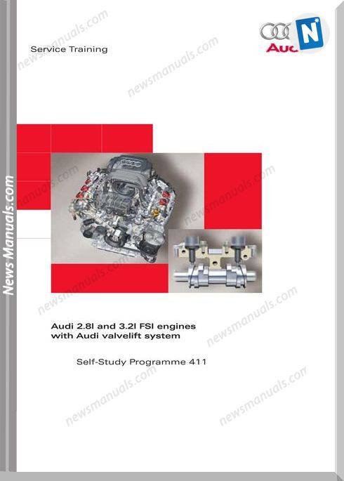 Audi Ssp 411 2 8L 3 2L Fsi Engines With Audi Valvelift