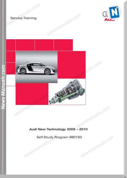 Audi Training 2010 Repair Manual