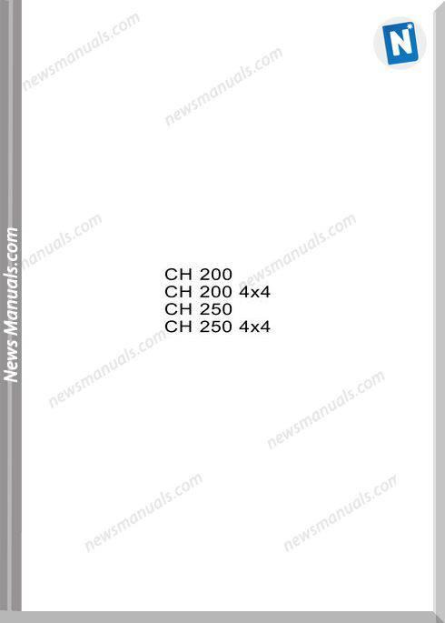 Ausa Forklift Models Ch200 Ch250 Service Manual Esp