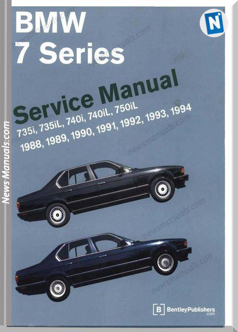Bentley Bmw 7 Series E32 Service Manual