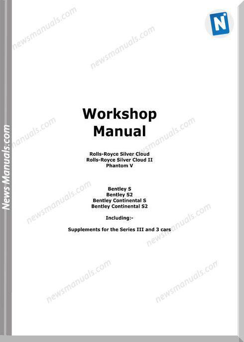 Bentley Continental Service Repair Manual