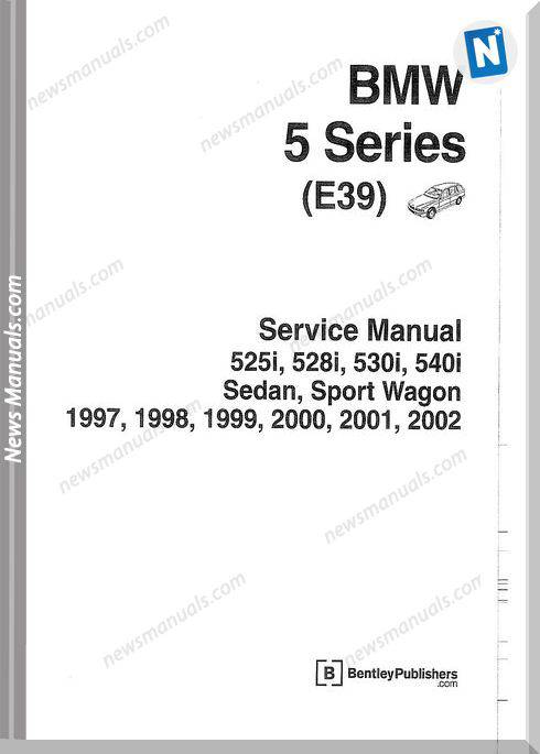 Bmw 3 Series Service Manual E39