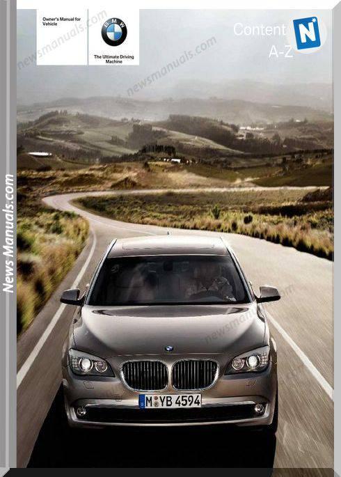 Bmw 7 Series 2012 Owners Manual