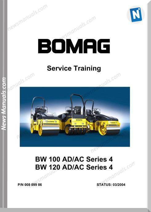 Bomag Bw100 120 Service Training