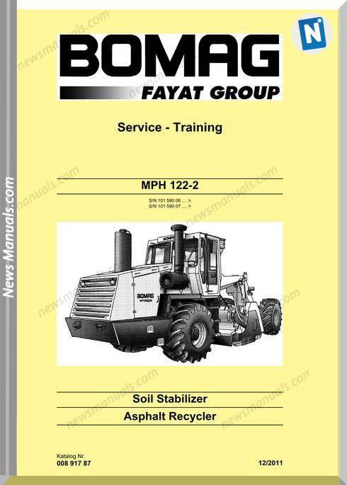 Bomag Mph 122 2 Service Manual