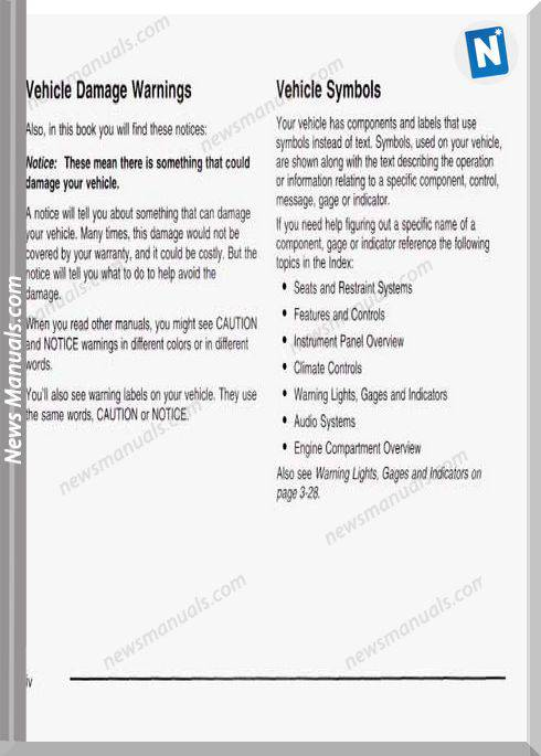 Buick Regal 2003 Service Manual