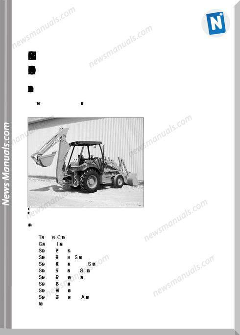 Case 580M Series 2 Loader Backhoe Parts Catalog