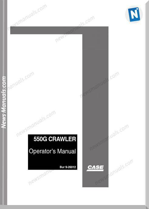 Case Dozer Crawler 450G Operators Manual