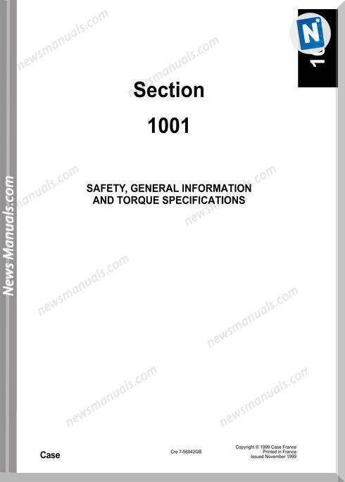 Case Hydraulics Excavators 588 Shop Manual