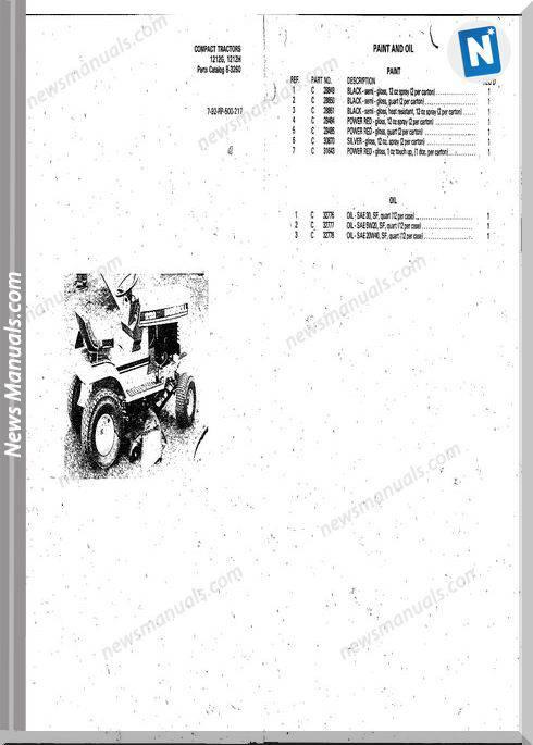 Case Ingersoll Tractor 1212g1212m 8
