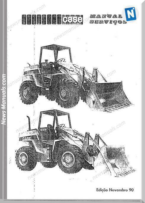 Case Wheel Loader W18 W20 Service Manual