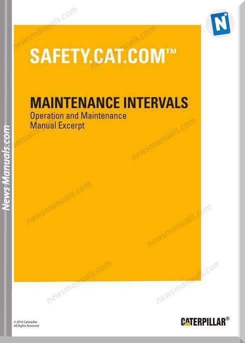 Caterpillar 216B 268B Skid Steer Loader Maintenance Manual