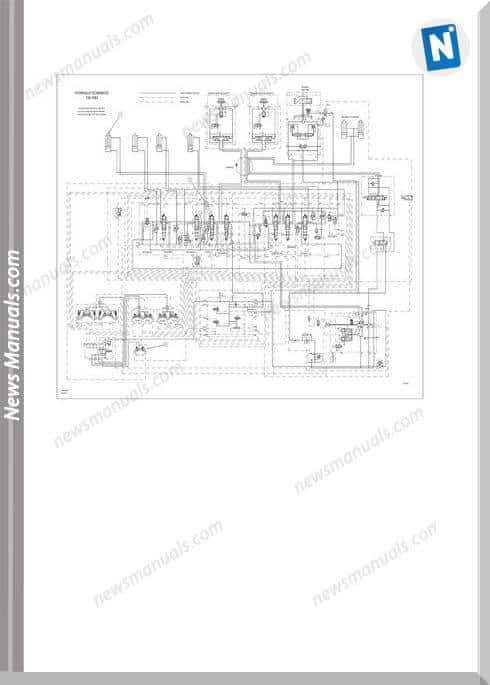 Caterpillar 307 Hydraulic Schematics 125-1683