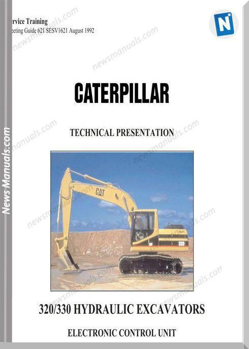 Caterpillar 320 330 Hydraulic Excavator Electronic