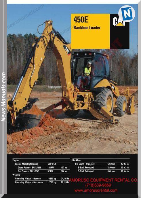 Caterpillar 450E Technical Specifications