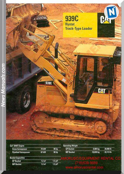 Caterpillar 939 Technical Specifications
