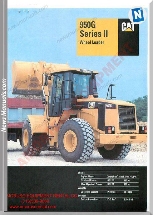 Caterpillar 950 Technical Specifications
