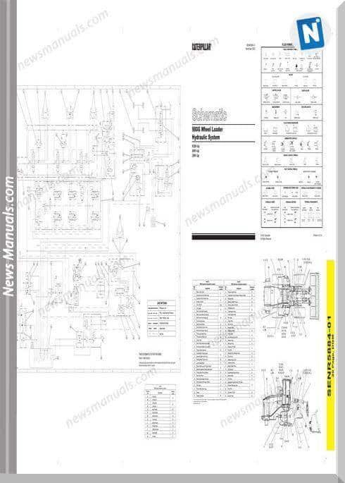 Caterpillar 980G Wheel Loader Hydraulic System