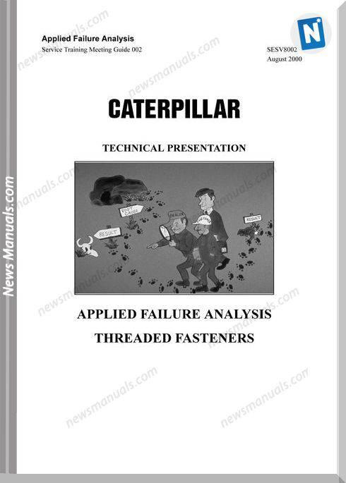 Caterpillar Applied Failure Analysis Fasteners Service Training