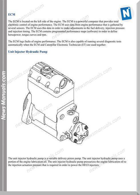 Caterpillar C9 Huei Models Fuel System Wiring Diagram