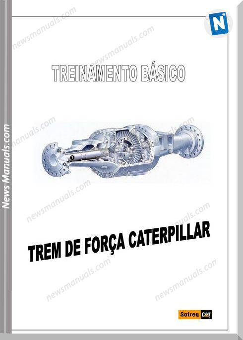 Caterpillar Curso Power Tranmisions Repair Manuals