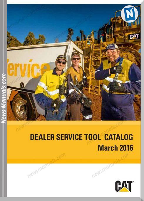 Caterpillar Dealer Service Tools Catalog 03.2016