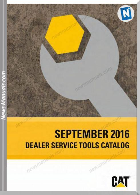 Caterpillar Dealer Service Tools Catalog 09.2016