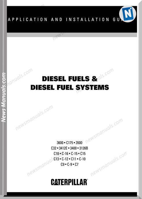Caterpillar Diesel Fuel Systems A I Repair Manual