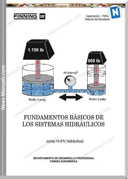 Caterpillar Hydraulic Systems Student Handbook Training Finning