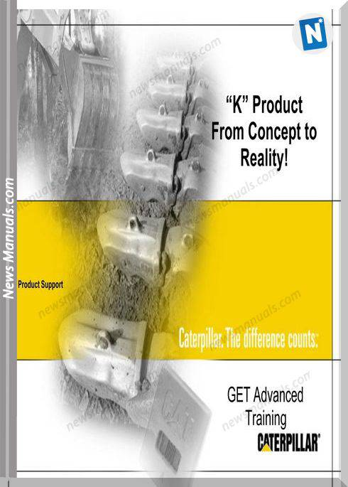 Caterpillar K Produc Get Advanced Training Manual