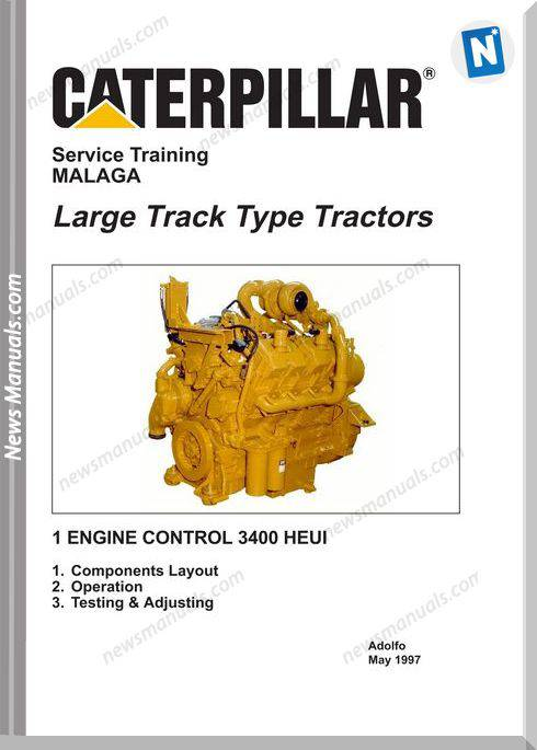 Caterpillar Large Track Type Tractors Service Training