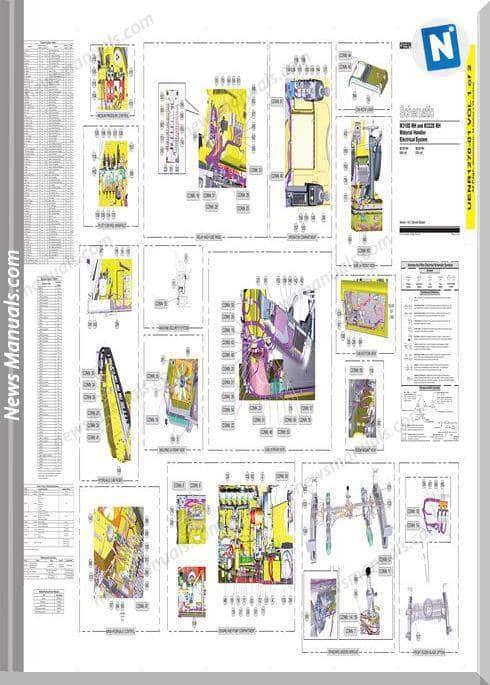 Caterpillar M318Mh M322Dmh Material Handler Electrical