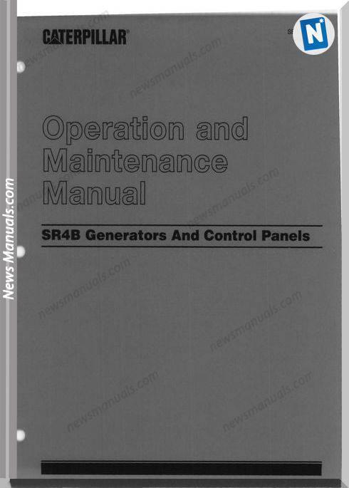 Caterpillar Maintenance Manual Sr4B Generators