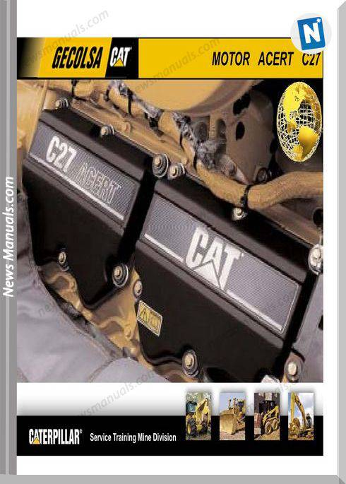 caterpillar motor acert c27 training manual