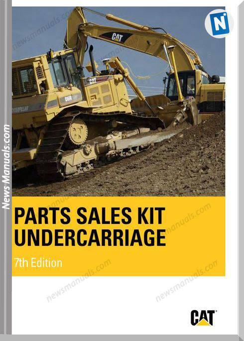 Caterpillar Parts Sales Kit Undercarriage
