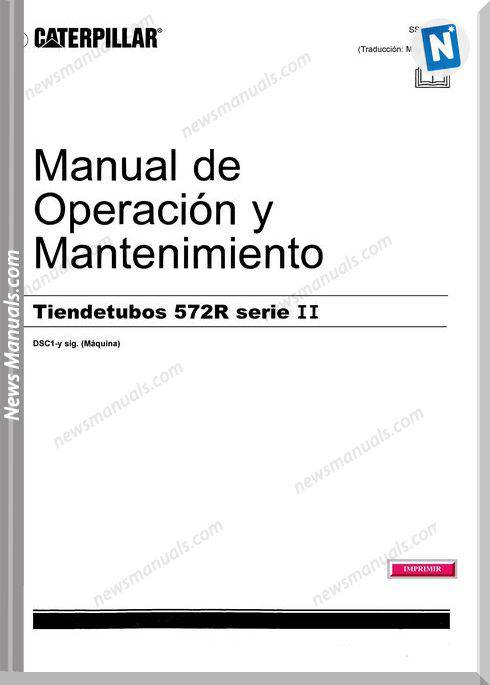 Caterpillar Pipelayers 572R Serie Ii Maintenance Manual
