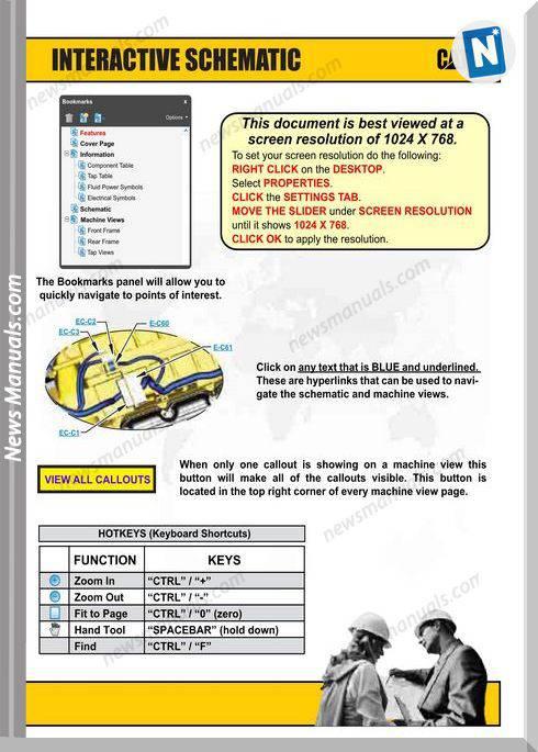 Caterpillar Skid Steer 216B Electrical Diagram